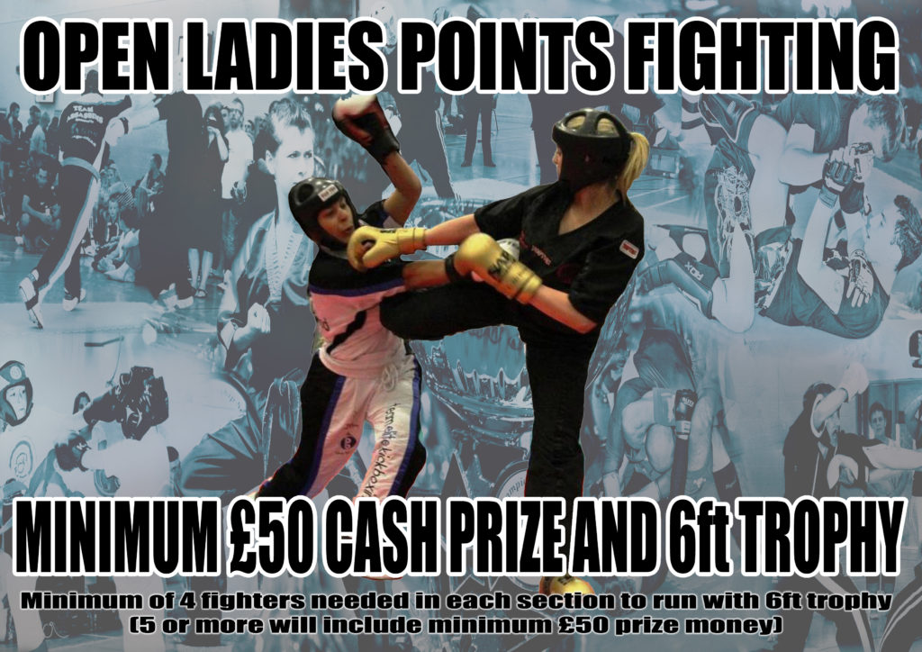 Ladies Open Points